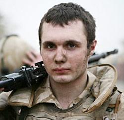 Soldat en Irak