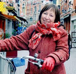 Lerares Spaans Lily Devos uit Leuven
