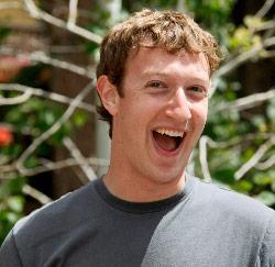 Facebookbaas Mark Zuckerberg