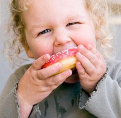 ongezonde voeding zorgt voor dikke kinderen!
