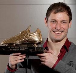 Milan Jovanovic won de Gouden Schoen 2009