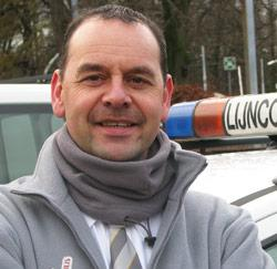 Glenn Deprins, controleur bij De Lijn