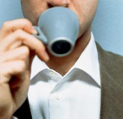 Stressé ? Vaut mieux ne pas ingurgiter de café ...