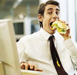 Luncher au bureau ?