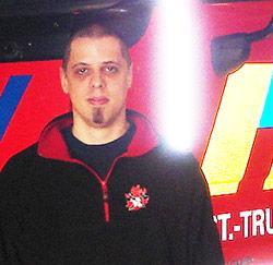 Brandweerman Hans Vandewalle