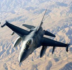 les  F16 belges en action