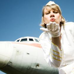 oude stewardess