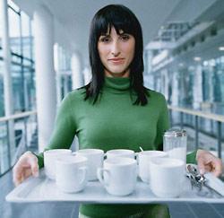 Koffiedame