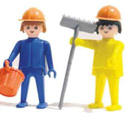 Playmobil werkmannen