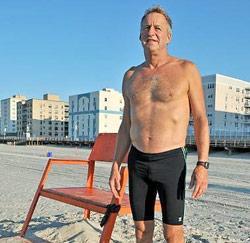 Strandwacht Roy Lester