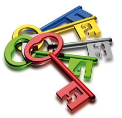 5 sleutels
