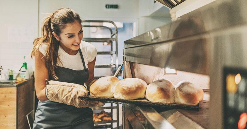 bakker aan het werk