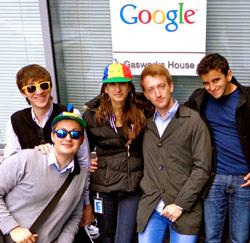 google stagiairs