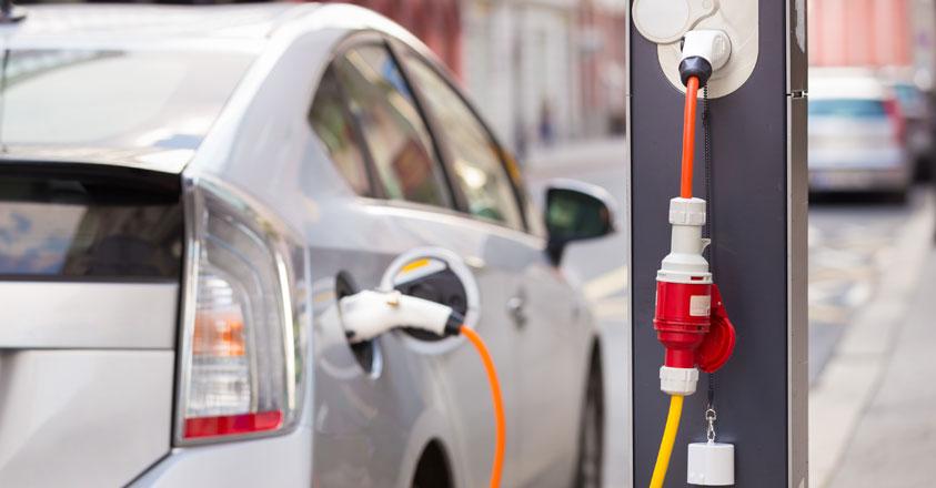 Plug-in hybride auto