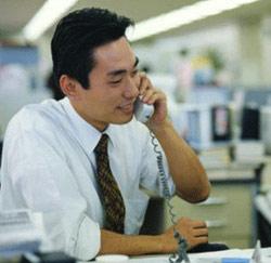 Japanner aan het werk