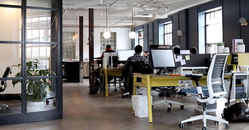 Een kantoor