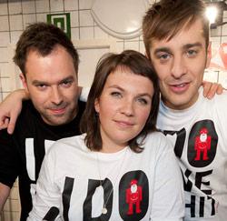 Siska, Sam en Tomas