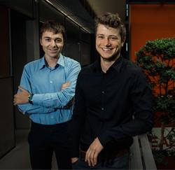 Niels Timmermans en Steven De Waele (RealDolmen)