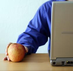 een appel is gezond