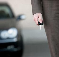 auto sleutel bedrijfswagen