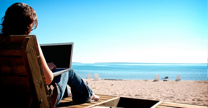 zomer laptop