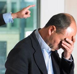 beschamend ontslag