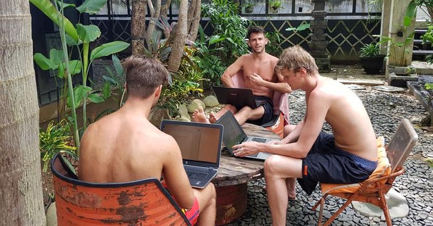Brandfirm op Bali