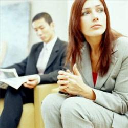 candidats pour un entretien d'embauche