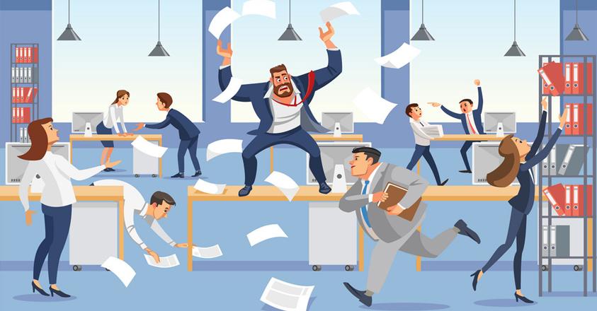 baisse de productivité au travail