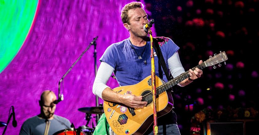 Chris Martin van Coldplay