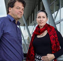 Lieven Vindevogel (HR Manager) en Stephanie De Cock (Junior Human Resources Manager) van Cipal Schaubroeck.