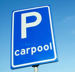 carpool parking