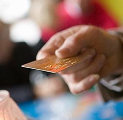 credit card betalen