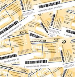 Het loon van een poetsvrouw met dienstencheques: 1.200 euro netto