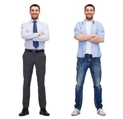 dresscode verschillen