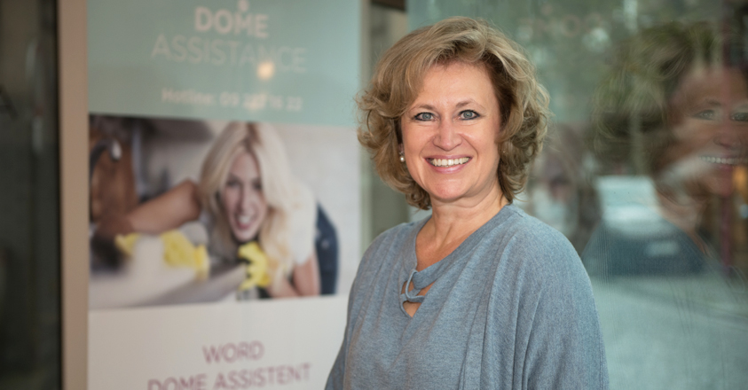 Erika Tuypens, ceo Dome Assistance