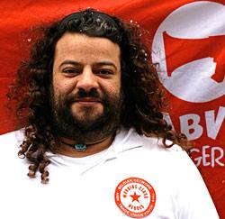 FArid El Afi, jongerenmedewerker bij het ABVV Vlaams-Brabant
