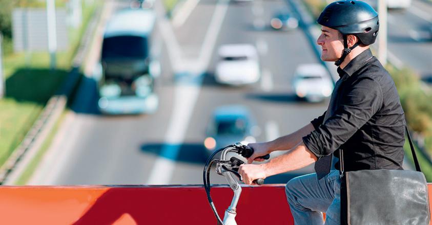 woonwerkverkeer met de fiets