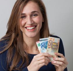 finances jeune femme