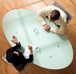 gesprek tafel