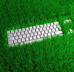 gras toetsenbord