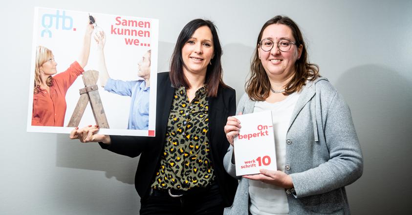 Ilse Brulmans en Veerle Hulsbosch van GTB