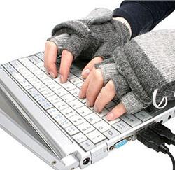 handschoenen laptop