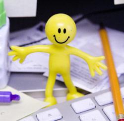 happy @ work