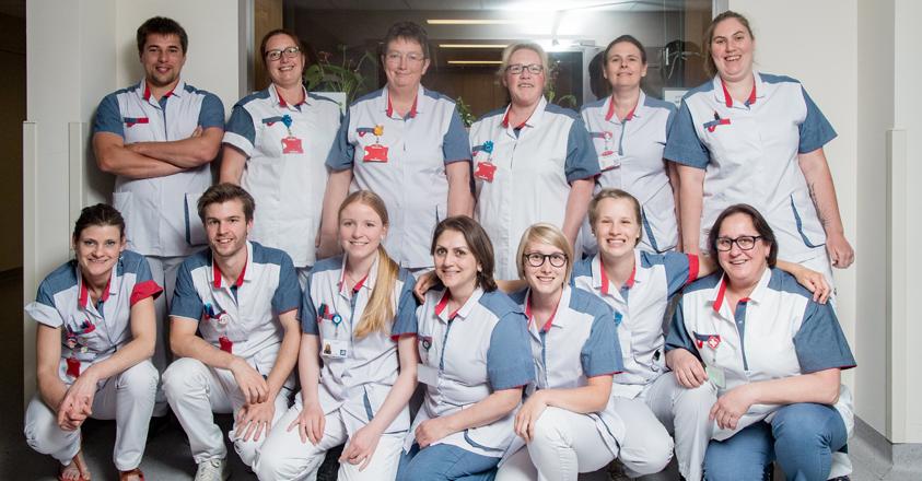 Het team van Heilig-Hartziekenhuis Lier