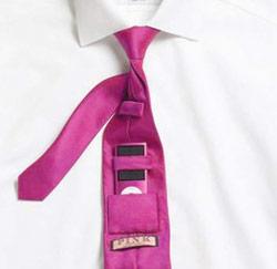 Thomas Pink iPod Tie