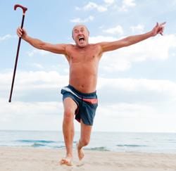 Italiaan op pensioen