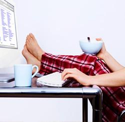 Van thuis uit werken: de voor- en nadelen