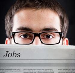 Op zoek naar een job
