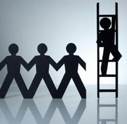 ladder klimmen